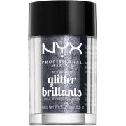 NYX PROFESSIONAL MAKEUP Face & Body Glitter - Gunmetal