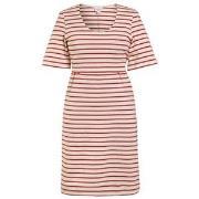 Boob Simone Short Sleeve Dress Tofu/Cardinal Red XS (32/34)
