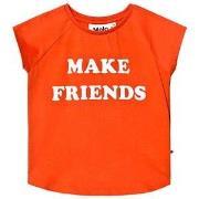 Molo Reinette T-shirts Cherry Tomato 104 cm (3-4 år)