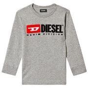 Diesel Division Long Sleeve Tee Grey 4 years
