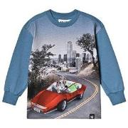 Molo Risci T-Shirt Self-Driving Car 92 cm (1,5-2 år)