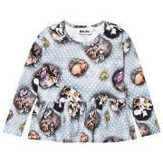 Molo Rasyma T-Shirt Pets n' Dots 92 cm (1,5-2 år)