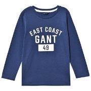 GANT East Coast Long Sleeve Tee Blue 98-104cm (3-4 years)